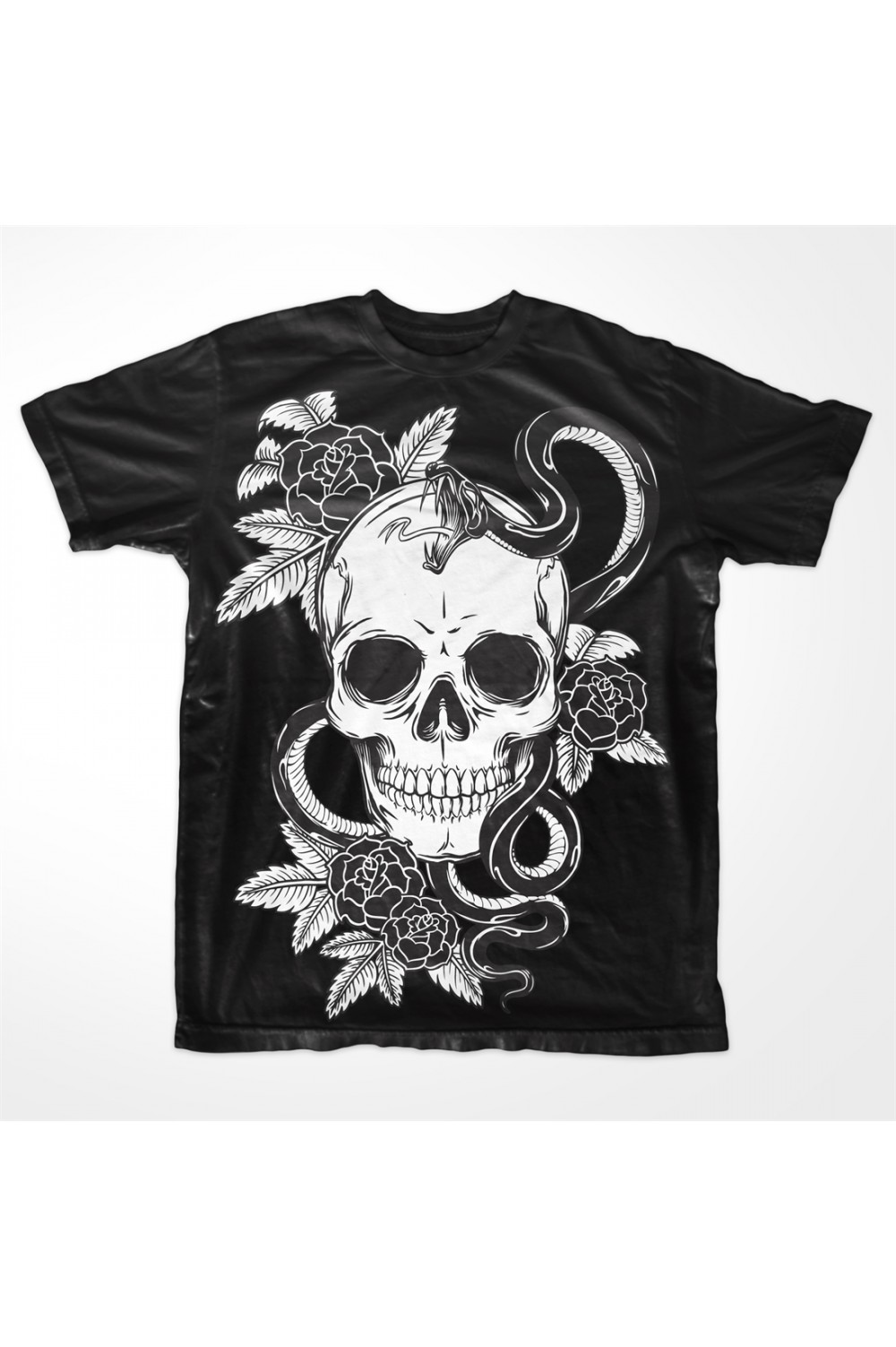 Skulls Men Printed T shirt 001